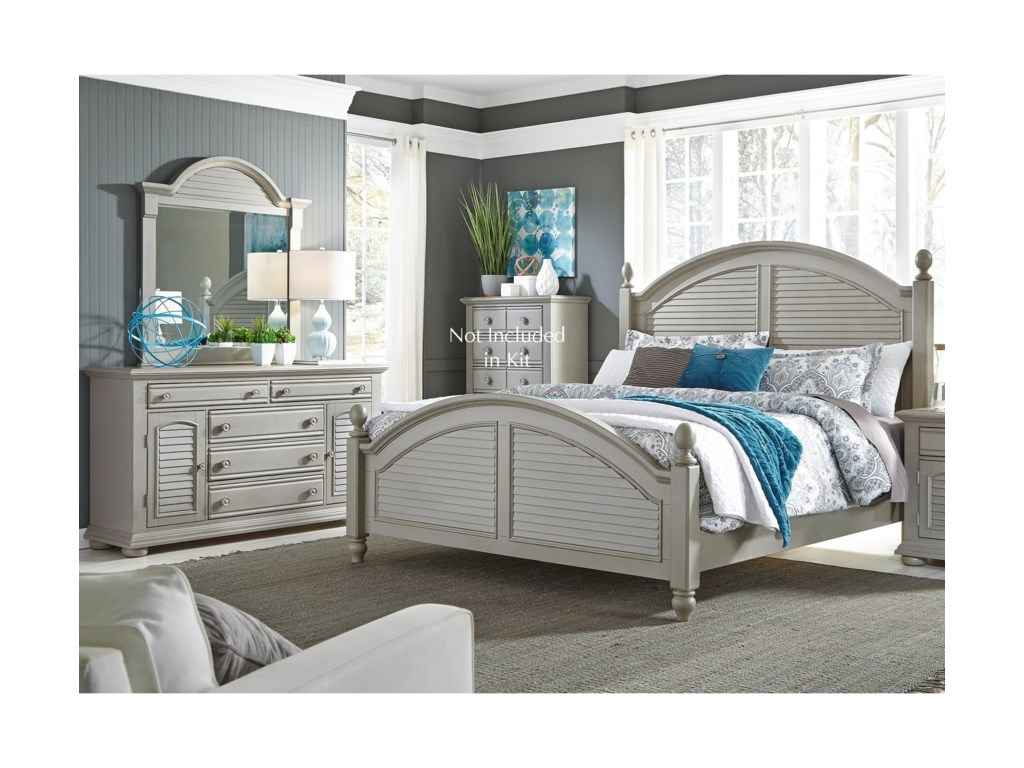 Liberty Furniture Summer House IIKing Bedroom Group
