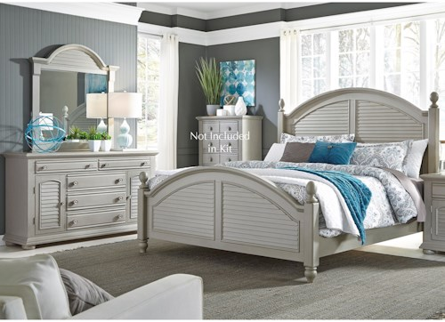 Liberty Furniture Summer House II King Bedroom Group