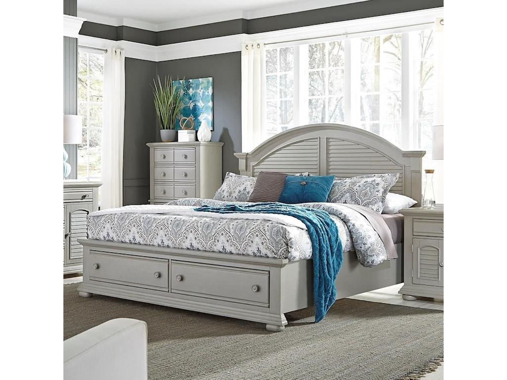 Liberty Furniture Summer House IIKing Storage Bed