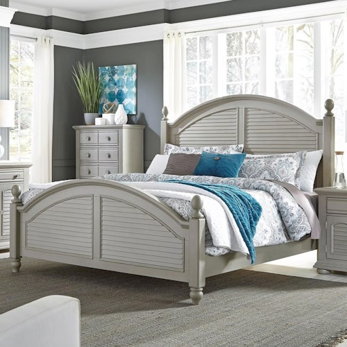 Liberty Summer House King Bed