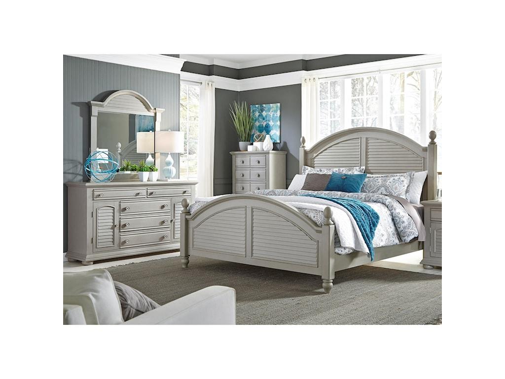 Liberty Furniture Summer House IIQueen Bedroom Group