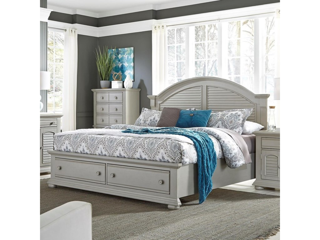 beds tooqueen with bed trim threshold products too bassett drawers cottage storage item vintage height vaughan width queen