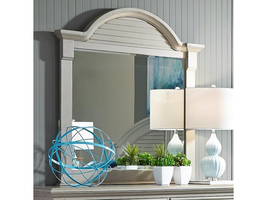 Liberty Furniture Summer House IIMirror with Wood Frame