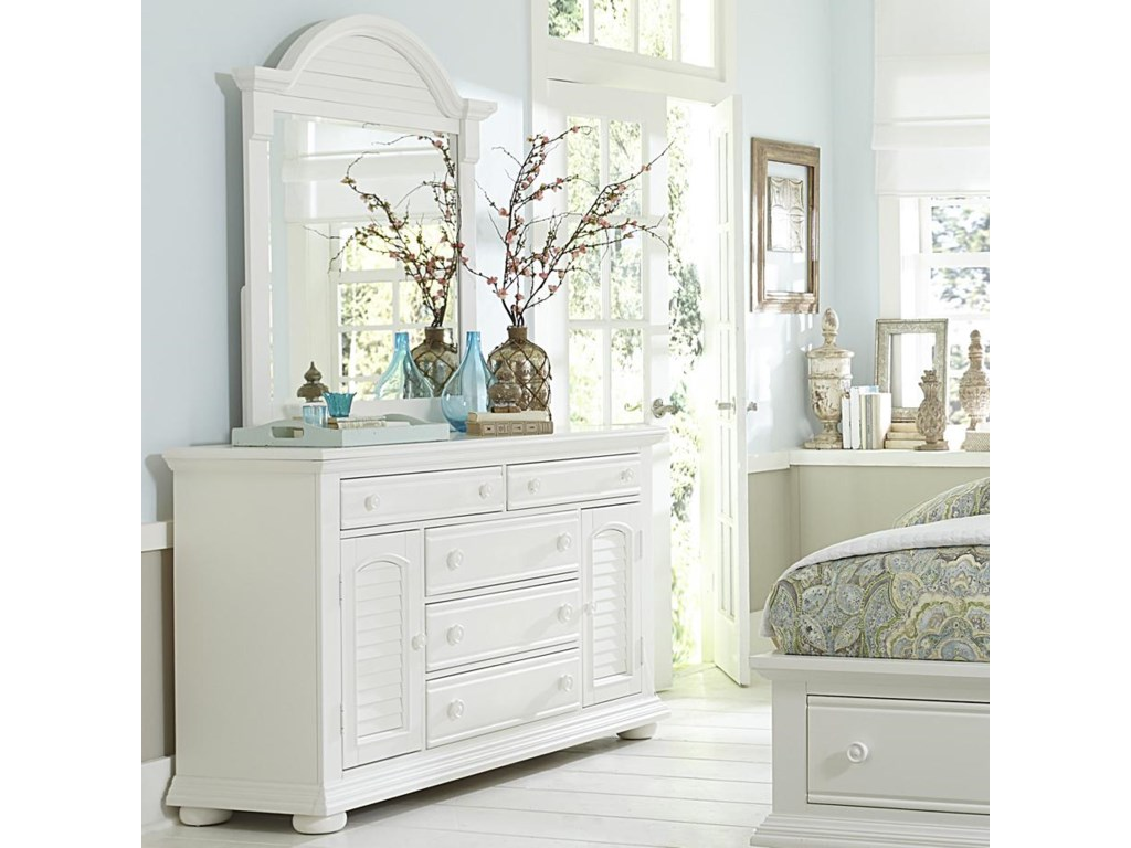 Liberty Furniture Summer HouseDresser and Mirror
