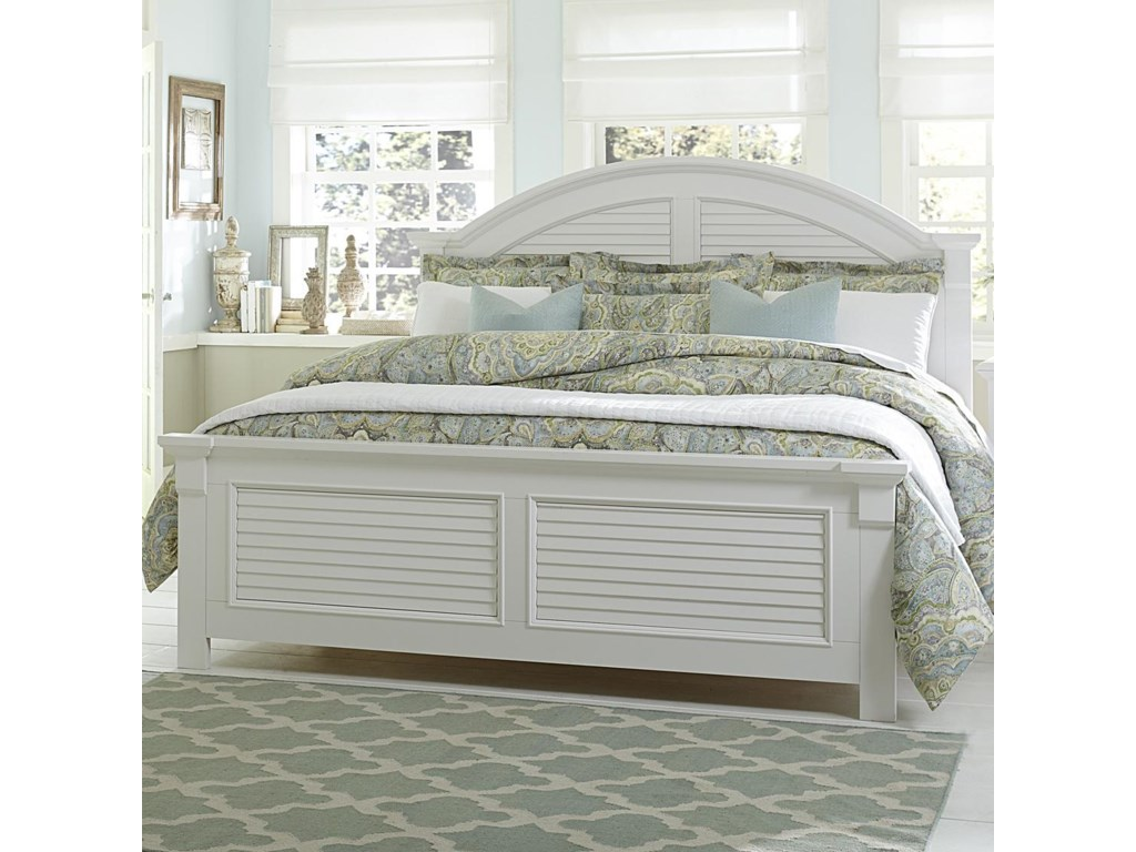 Liberty Furniture Summer HouseQueen Panel Bed