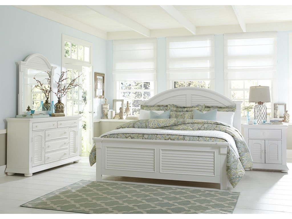 Liberty Furniture Summer HouseQueen Panel Bed