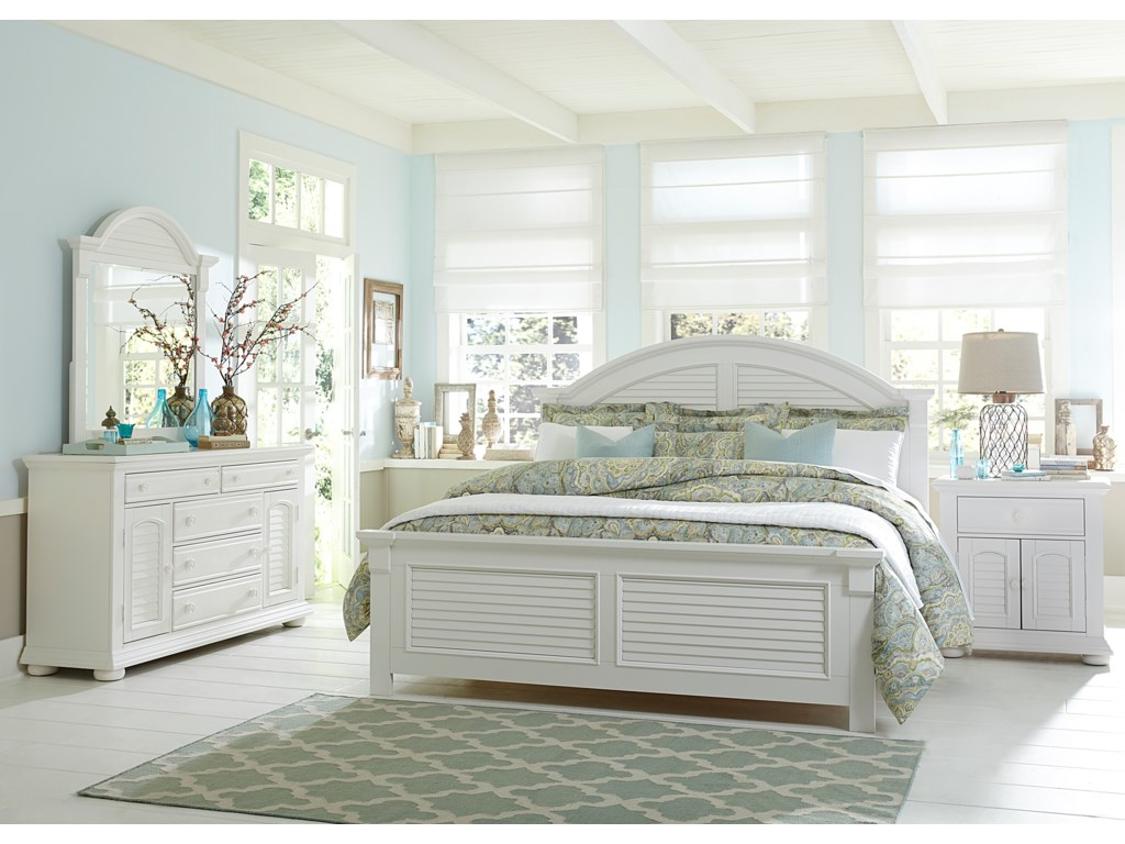 Liberty Furniture Summer House Queen Bedroom Group Prime Brothers