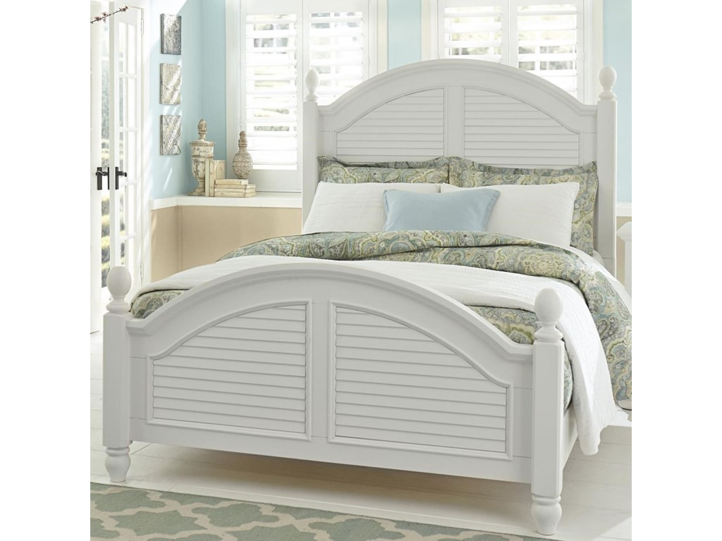 Liberty Furniture Summer HouseQueen Poster Bed