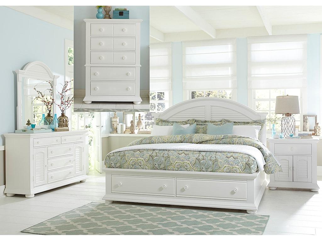 Liberty Furniture Summer HouseQueen Bedroom Group
