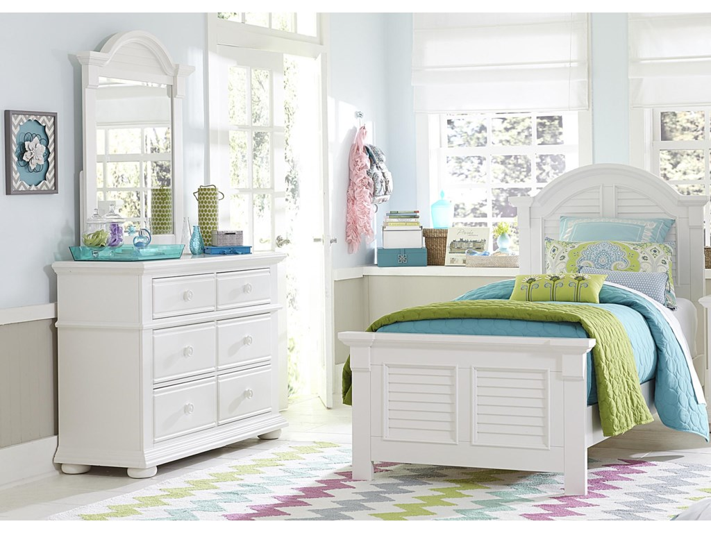 Liberty Furniture Summer HouseTwin Panel Bed