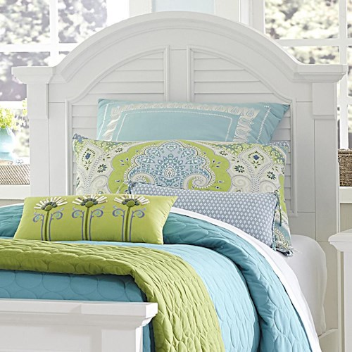 Liberty Furniture Summer House Arched Twin Panel Headboard