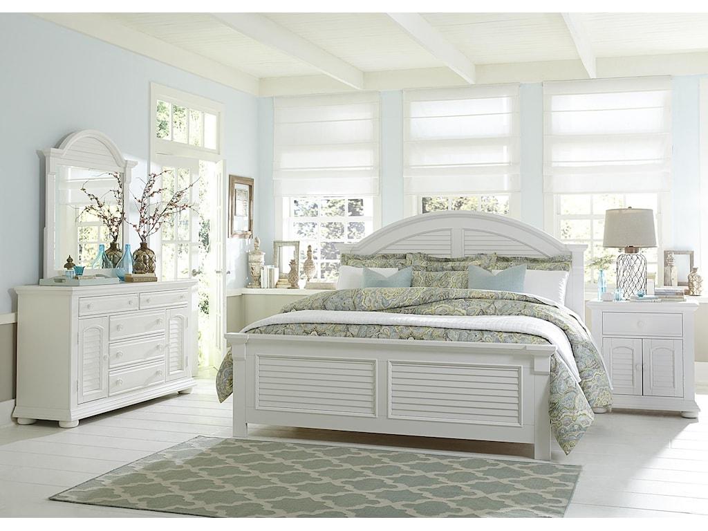 Liberty Furniture Summer HouseQueen Panel Headboard