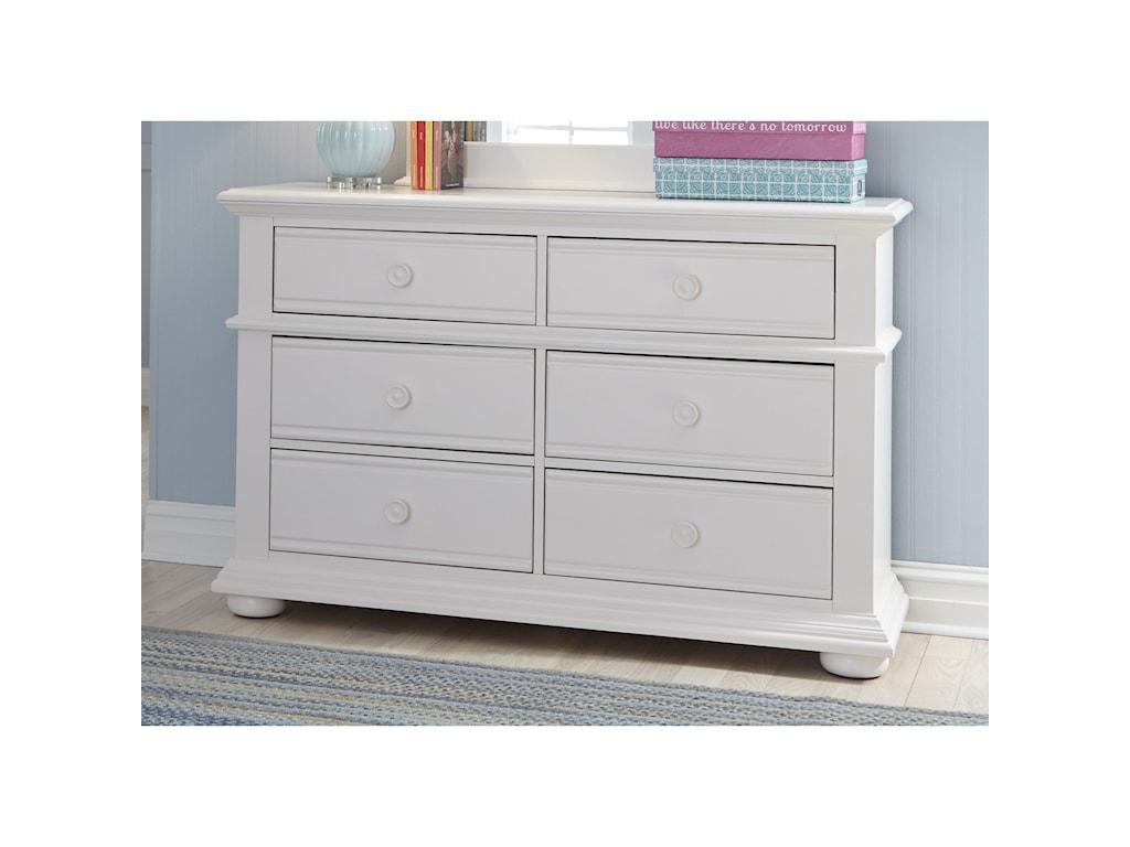 Liberty Furniture Summer House6 Drawer Dresser