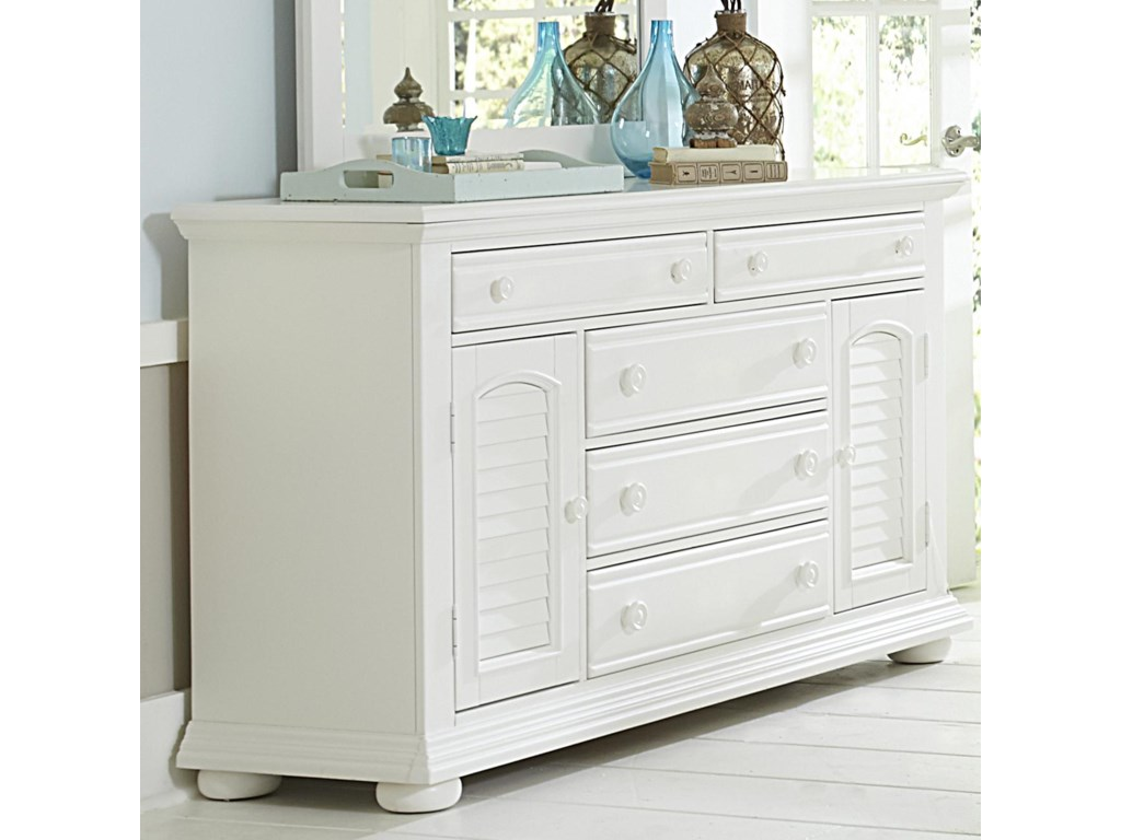 Liberty Furniture Summer House2 Door 5 Drawer Dresser