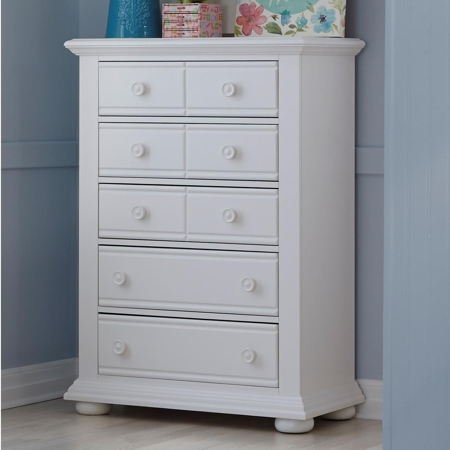 Exceptional Liberty Furniture Summer House 5 Drawer Chest