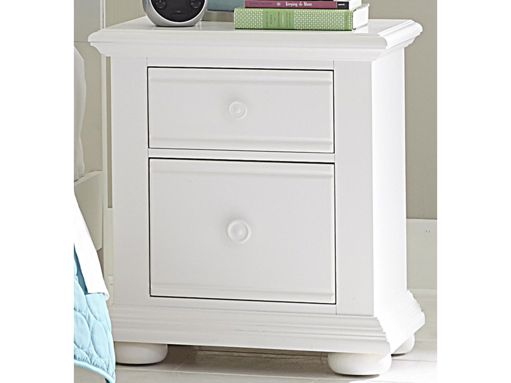 Liberty Furniture Summer House2 Drawer Night Stand