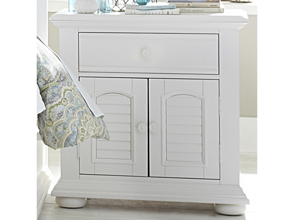 Liberty Furniture Summer House2 Door 1 Drawer Night Stand