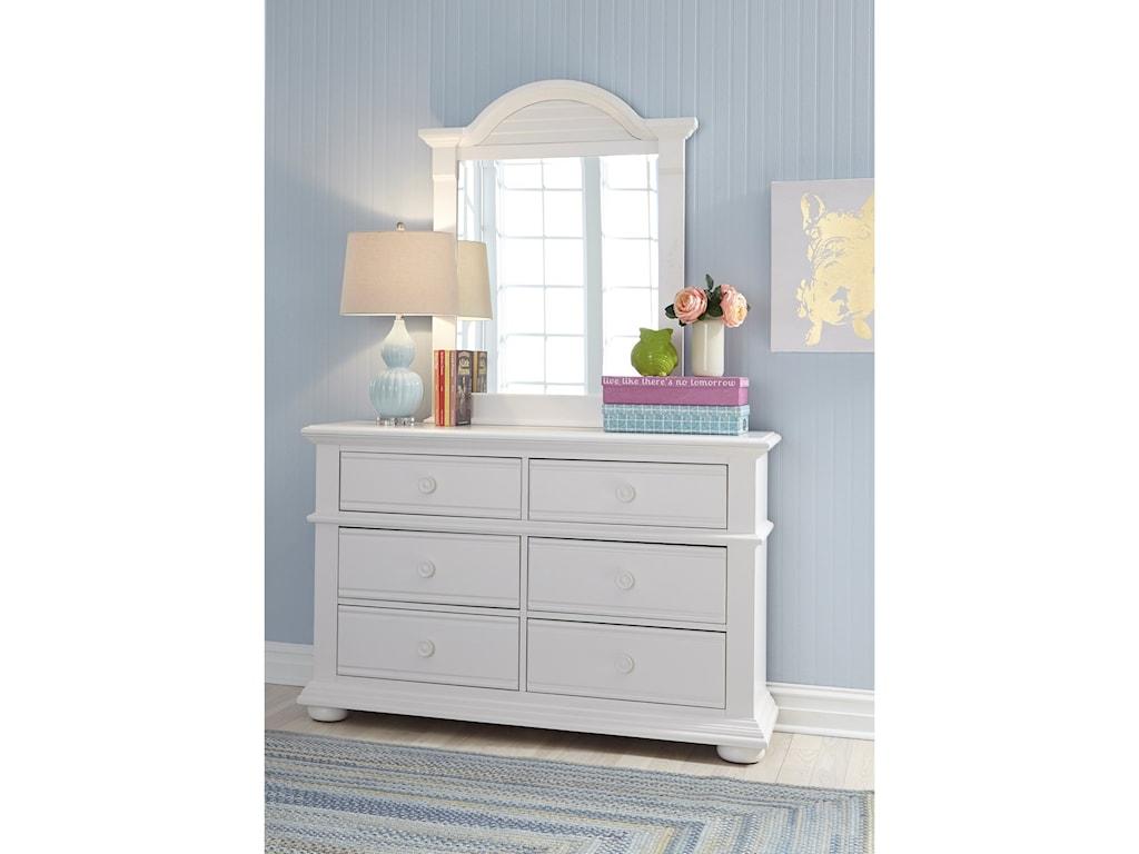Liberty Furniture Summer HouseDresser & Mirror