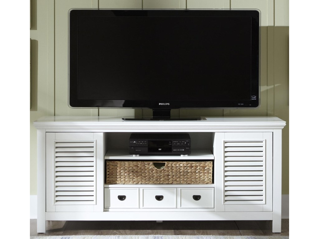 Liberty Furniture Summerhill 442 Tv68 Entertainment Tv Stand With