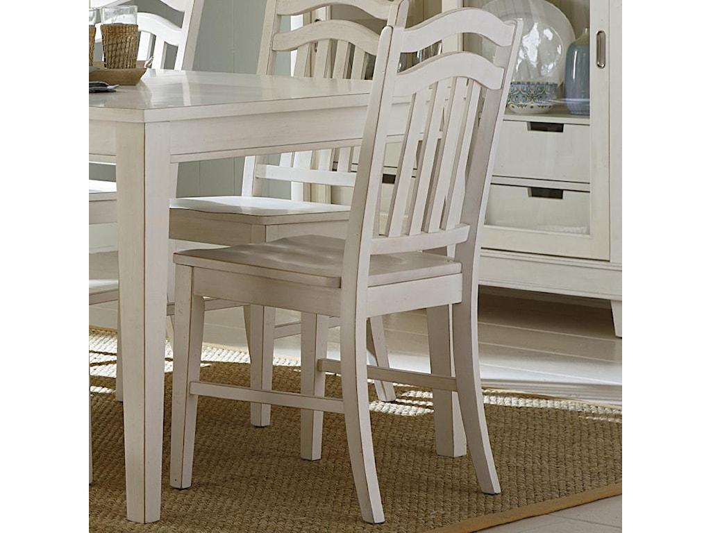 Liberty Furniture SummerhillSlat Back Side Chair