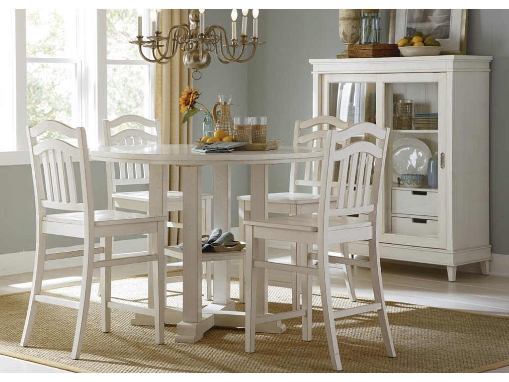 Liberty Furniture Summerhill5-Piece Counter Height Dining Set