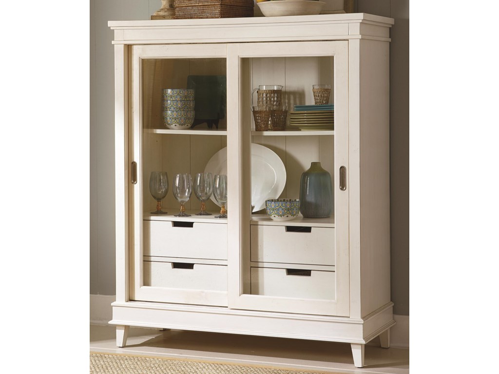 Liberty Furniture SummerhillDisplay Cabinet