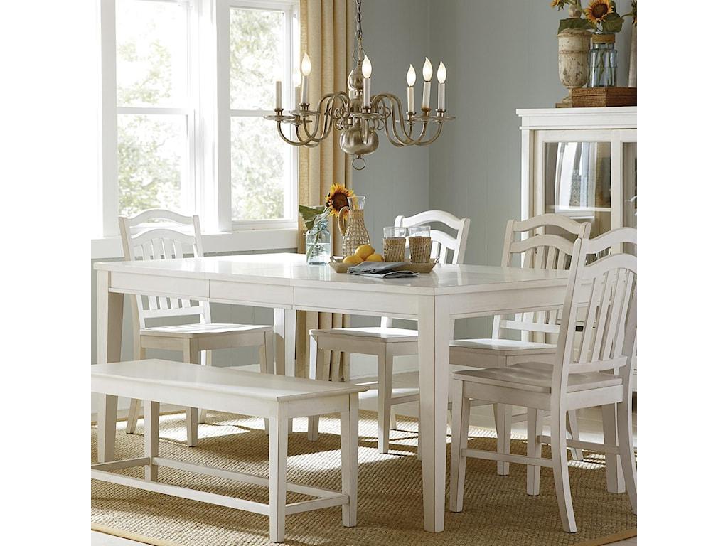 Liberty Furniture SummerhillRectangular Leg Table
