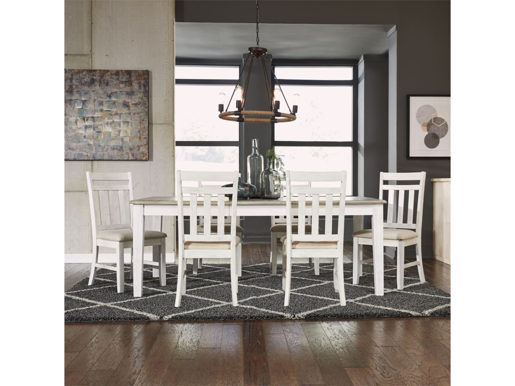 Summerville 7 Piece Rectangular Table Set