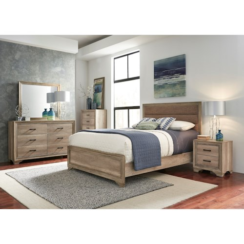 Liberty Furniture Sun Valley 439 Queen Bedroom Group - Wayside ...