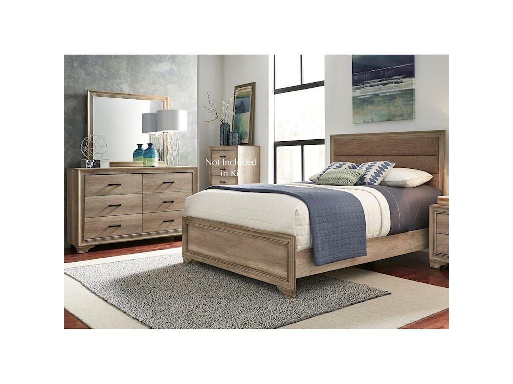 Sarah Randolph Designs Sun ValleyQueen Bedroom Group