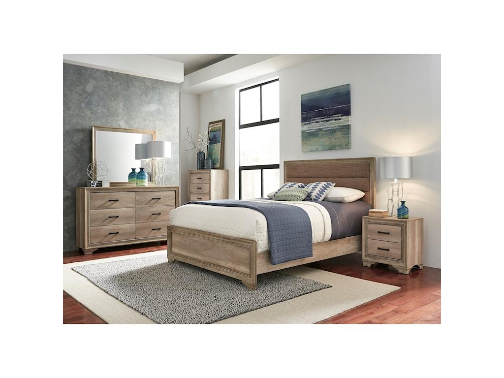Liberty Furniture Sun ValleyQueen Bedroom Group