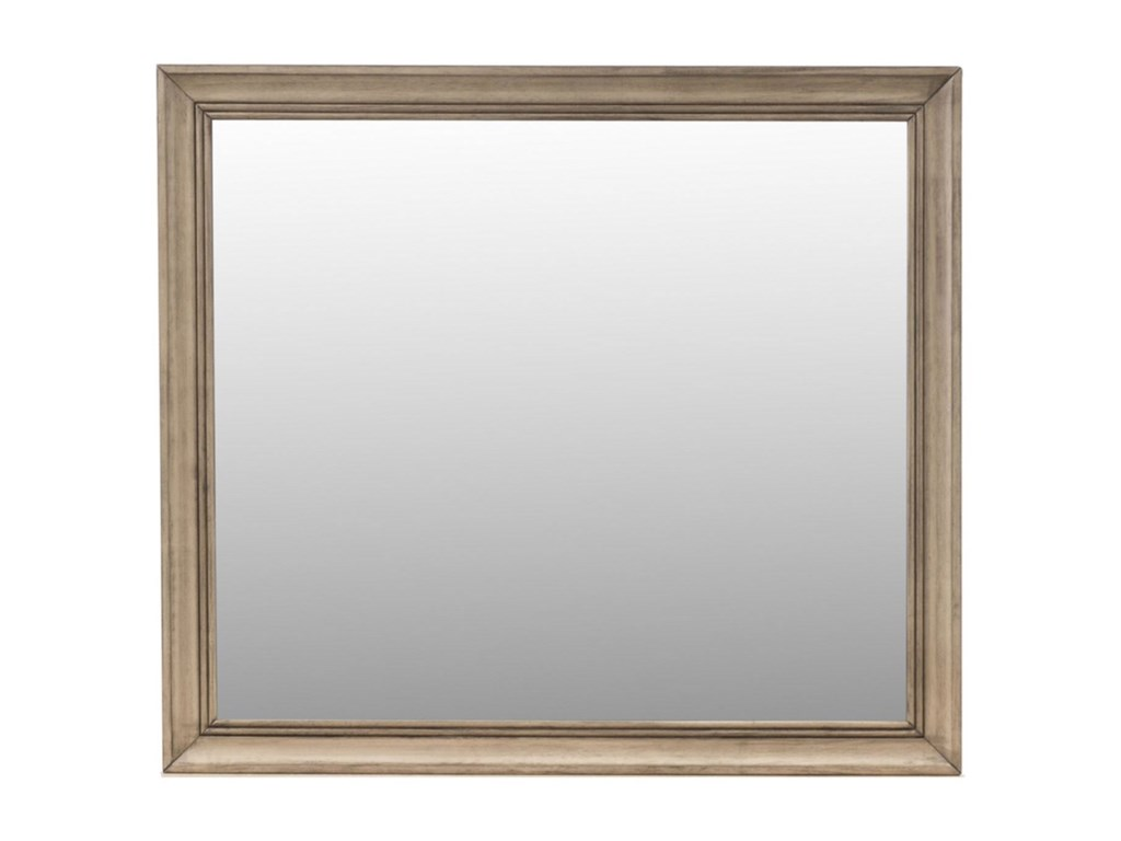 Liberty Furniture Sun ValleyMirror with Wood Frame