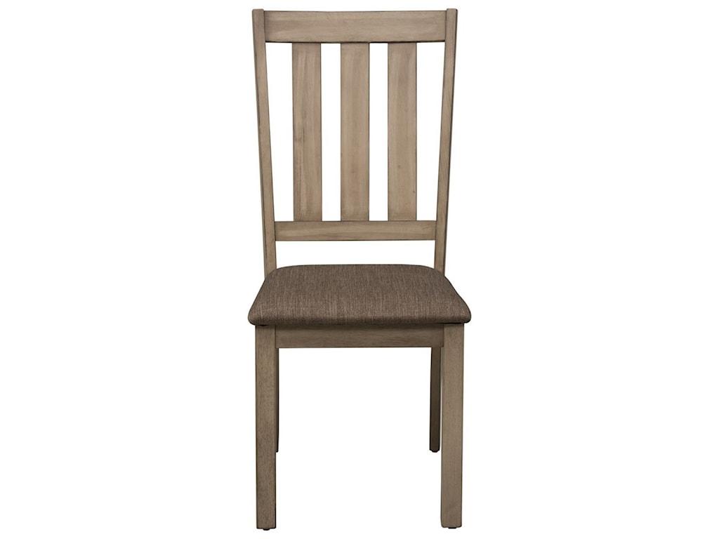 Liberty Furniture Sun ValleySlat Back Side Chair