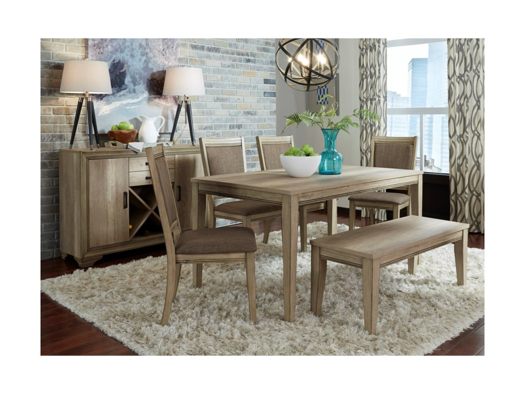 Liberty Furniture Sun ValleyDining Room Group