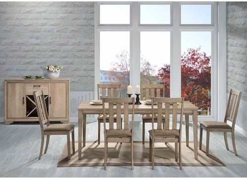 Liberty Furniture Sun Valley Casual Dining Room Group