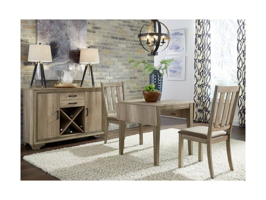Liberty Furniture Sun Valley3 Piece Drop Leaf Set