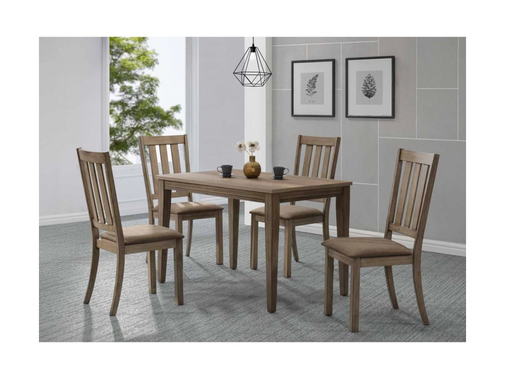 Liberty Furniture Sun Valley5 Piece Cafe Table Set