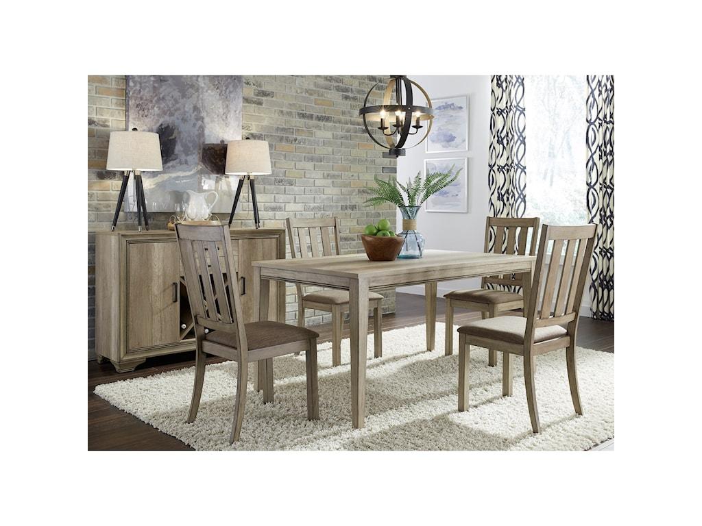 Liberty Furniture Sun Valley5 Piece Leg Table Set