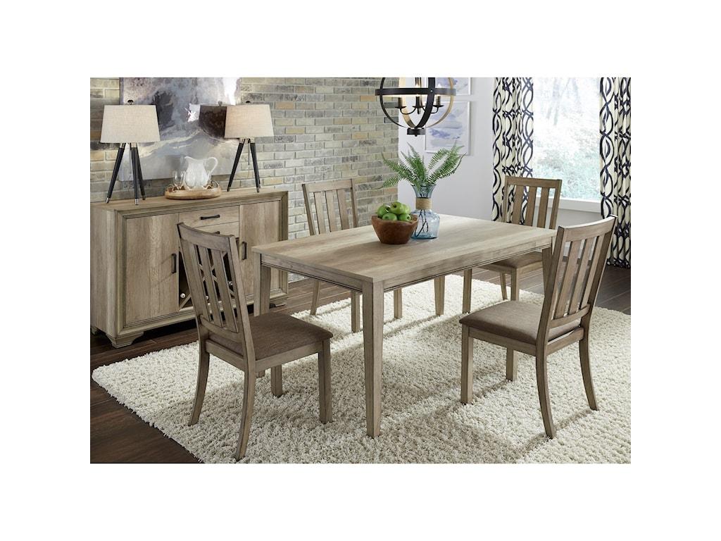 Liberty Furniture Sun Valley5 Piece Rectangular Table Set