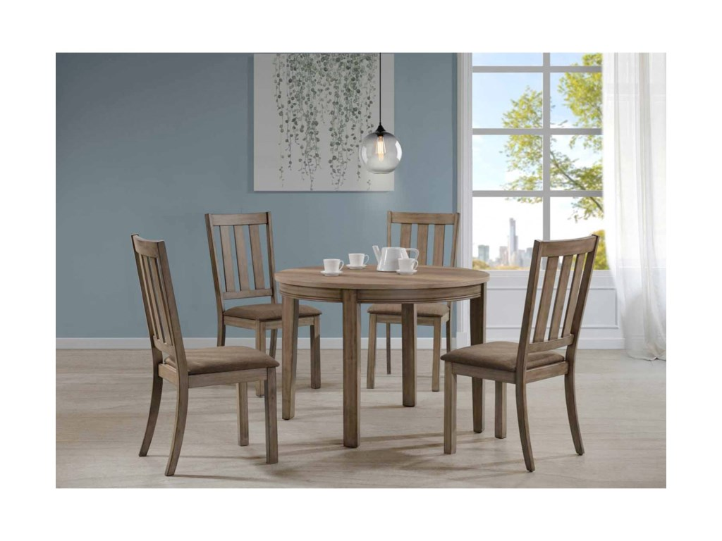 Liberty Furniture Sun Valley5 Piece Round Table Set