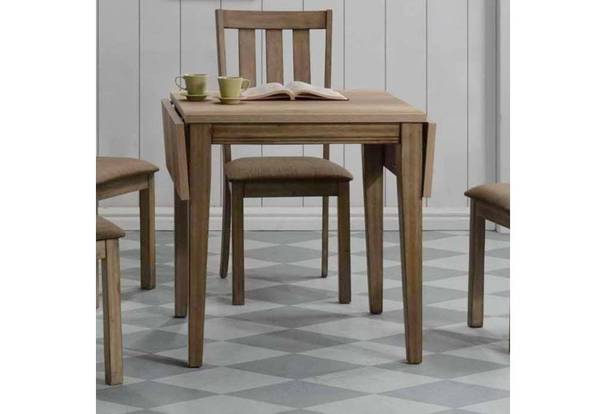 Sun Valley Drop Leaf Table with Sandstone Finish by Liberty Furniture at  Johnny Janosik
