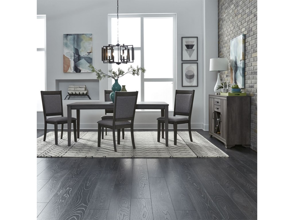 Liberty Furniture Tanners CreekDining Room Group