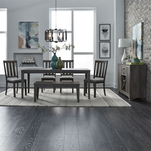 Liberty Furniture Tanners Creek Dining Room Group