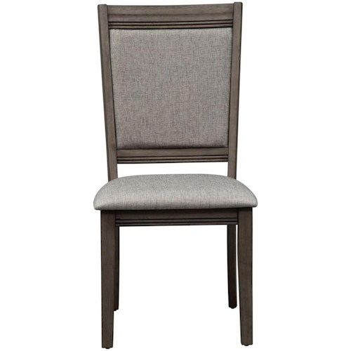 Liberty Furniture Tanners Creek Contemporary Upholstered Side Chair
