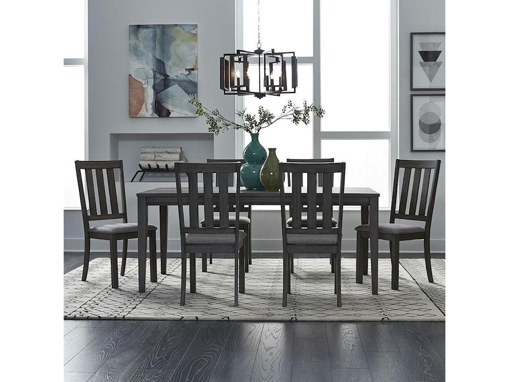 Liberty Furniture Tanners Creek7 Piece Rectangular Table Set