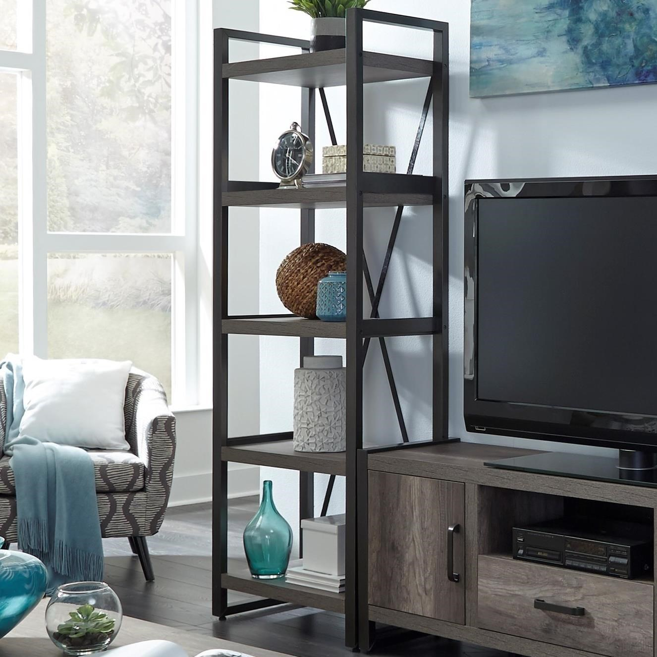 Liberty Furniture Tanners Creek Contemporary Tall Pier Unit