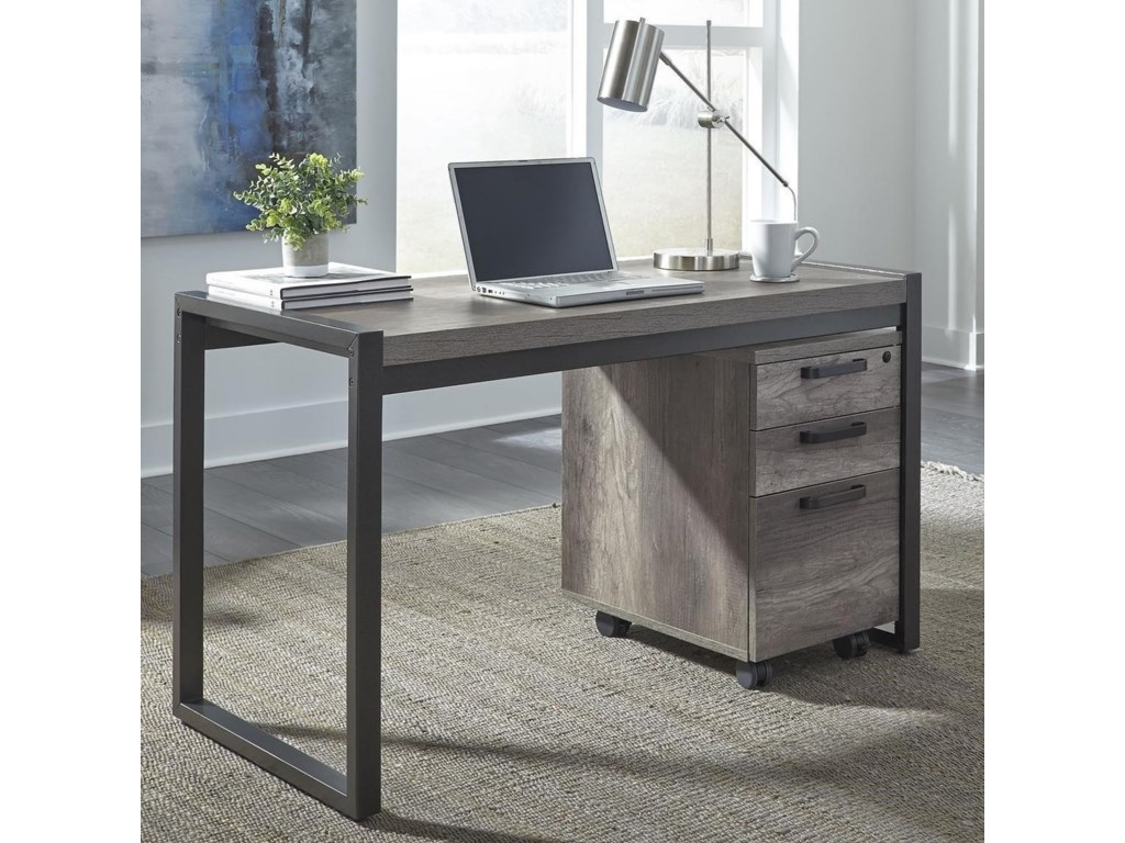 Liberty Furniture Tanners Creek Contemporary Writing Desk With 3