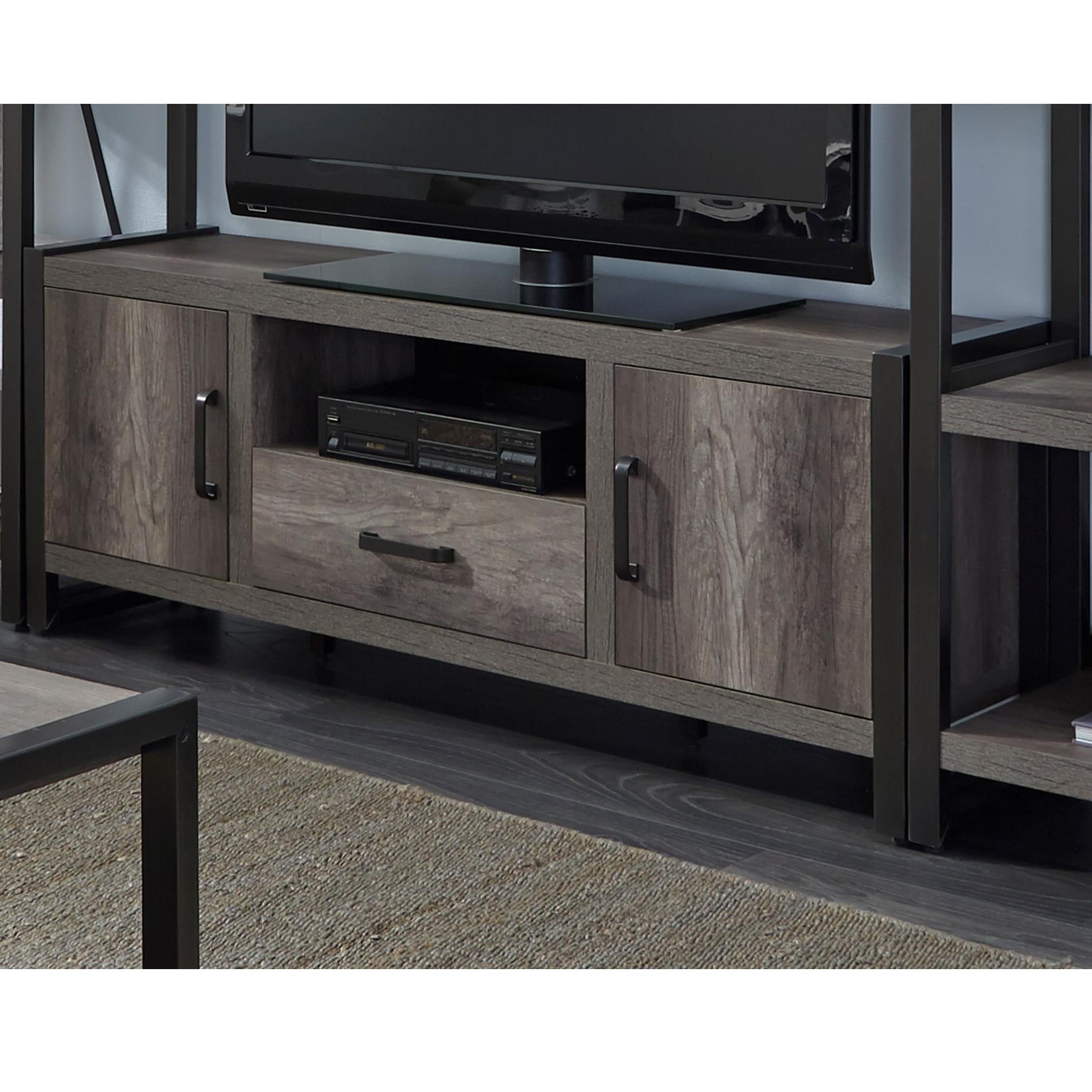 Media Stand Designs : Modern designs tan wood tv stand  ebay