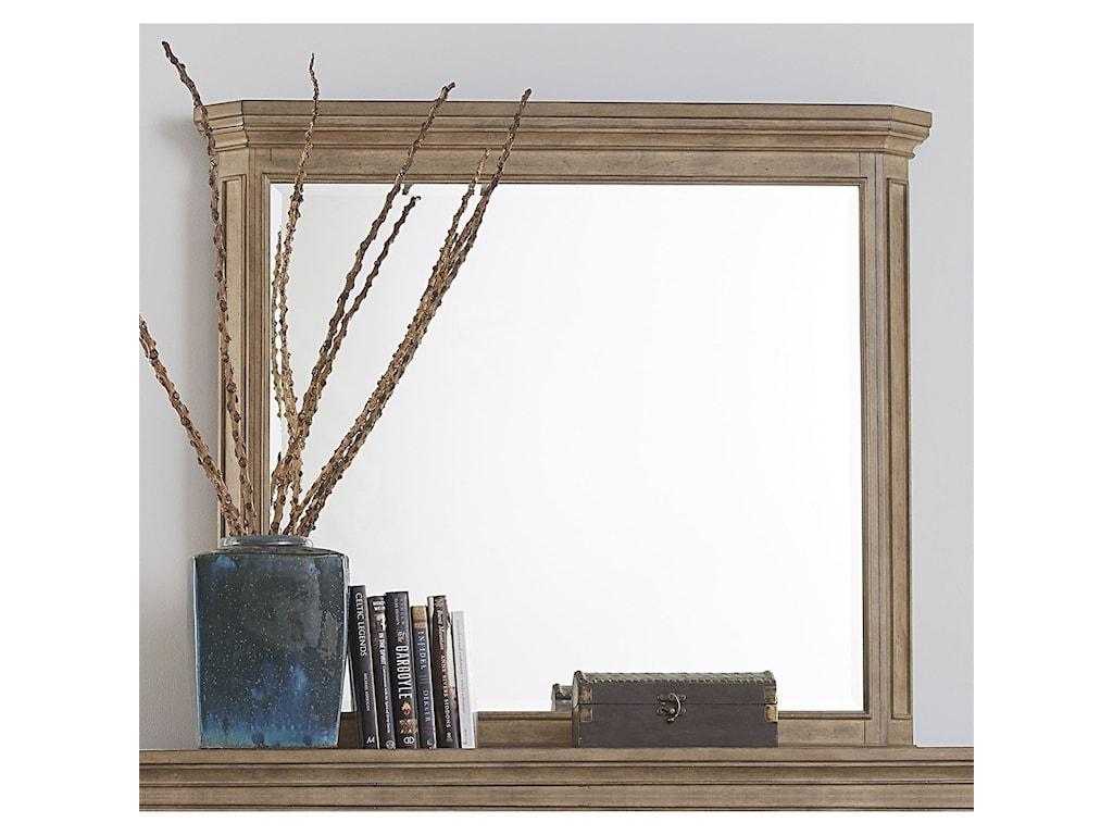 Liberty Furniture The LaurelsLandscape Mirror