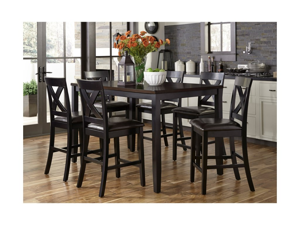 Liberty Furniture Thornton7 Piece Gathering Table Set